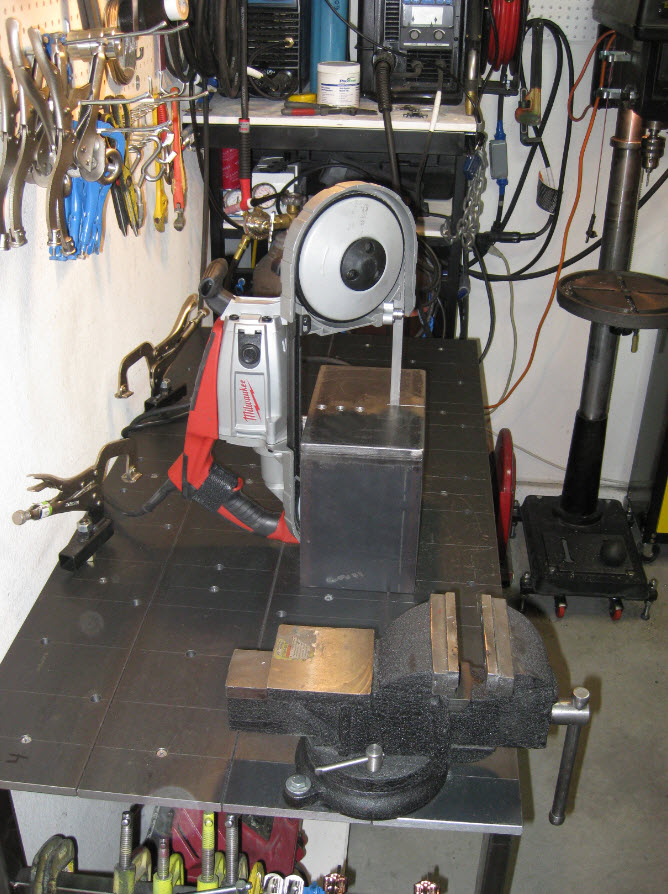 Porta Band Saw Tabletop Stand Ctm Projects